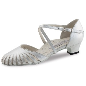 Werner Kern - Ladies Dance Shoes Murielle - Perl Silver