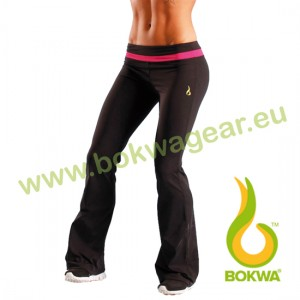Bokwa® - Woza Active Pant - Negro/Fuschia | Final Sale