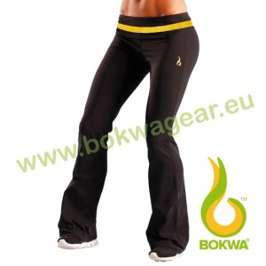 Bokwa® - Woza Active Pant - Schwarz/Sunburst | Final Sale