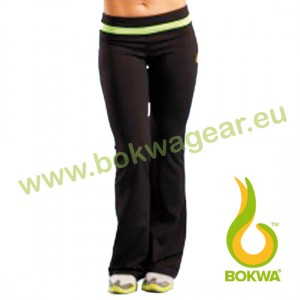 Bokwa® - Woza Active Pant - Schwarz/Zest Green | Final Sale