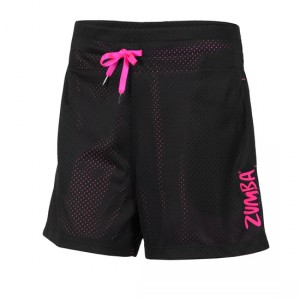 Zumba® - Z-Team Mesh Shorts - Zwart