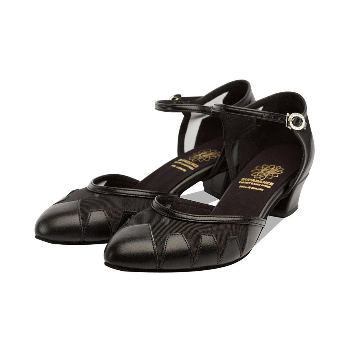 33a26ce5d Supadance - Ladies Dance Shoes 1040 - Black Leather/Mesh