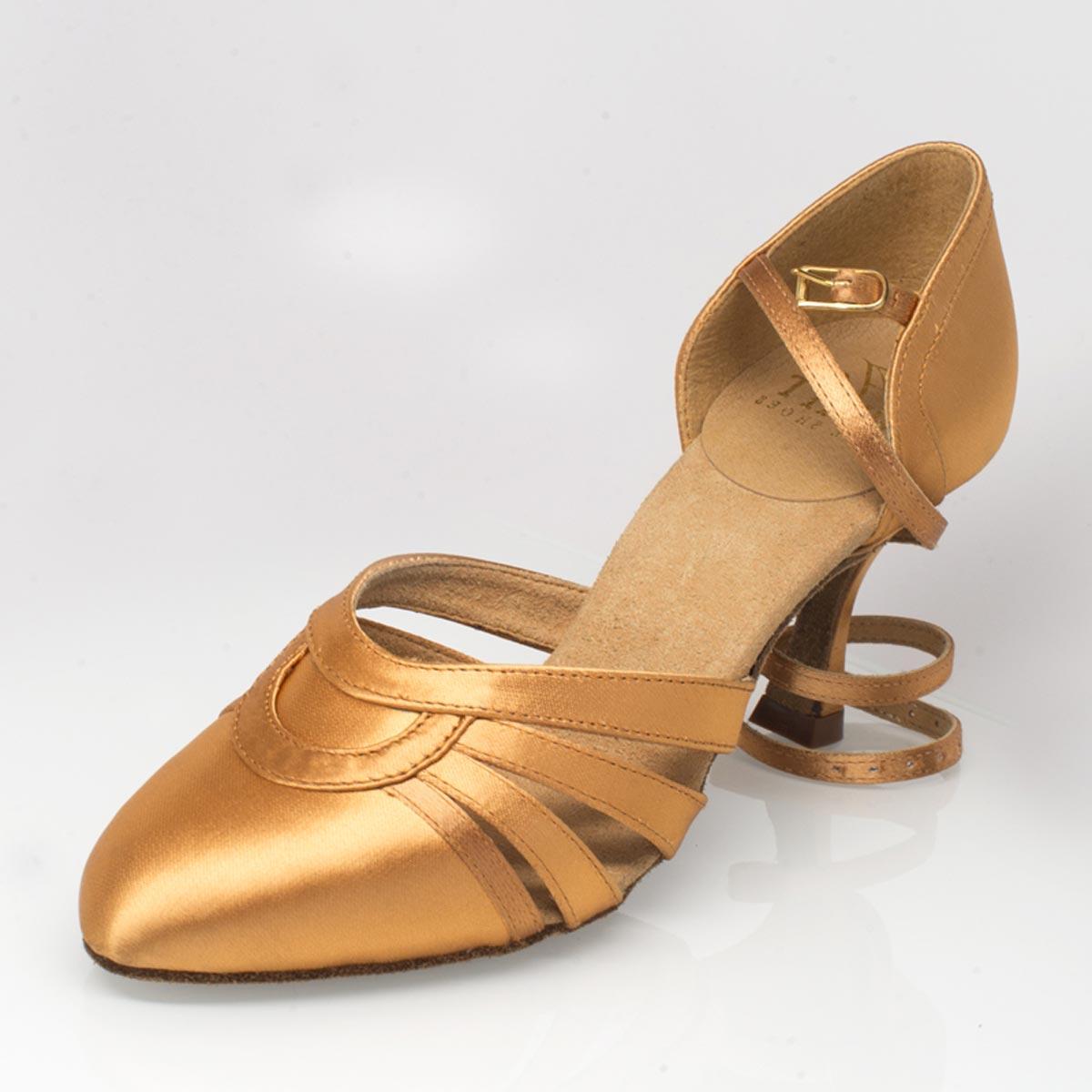 af156c77026b Ray Rose - Ladies Dance Shoes 104 Nevada - Flesh Satin