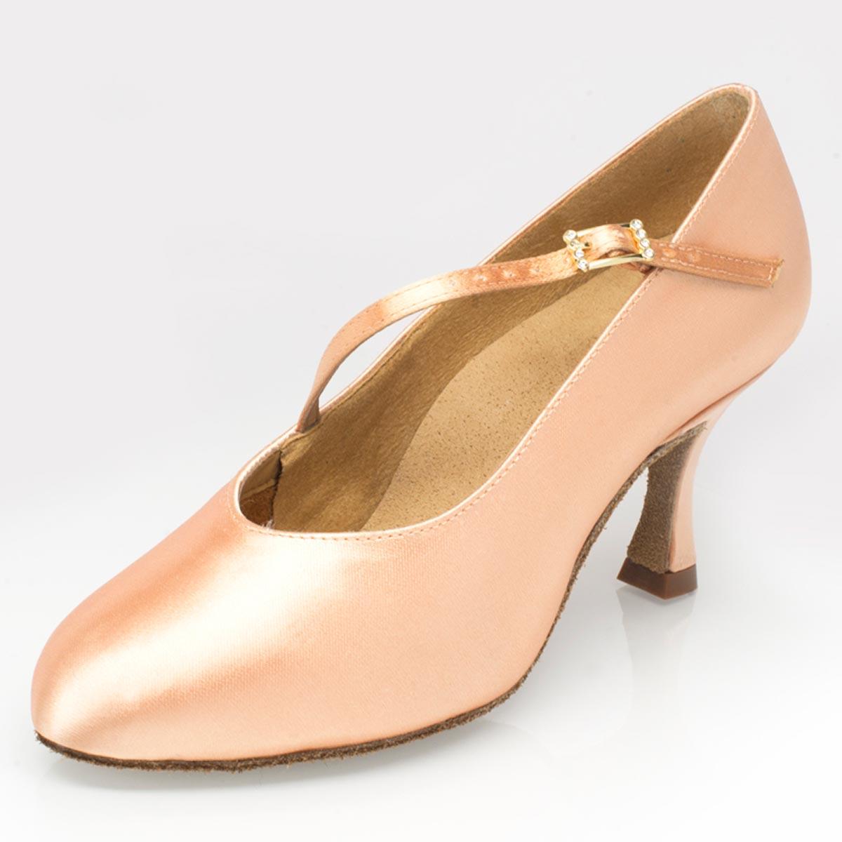 11fe44cae5e Ray Rose - Ladies Dance Shoes 116 Rockslide - Satin Light Flesh