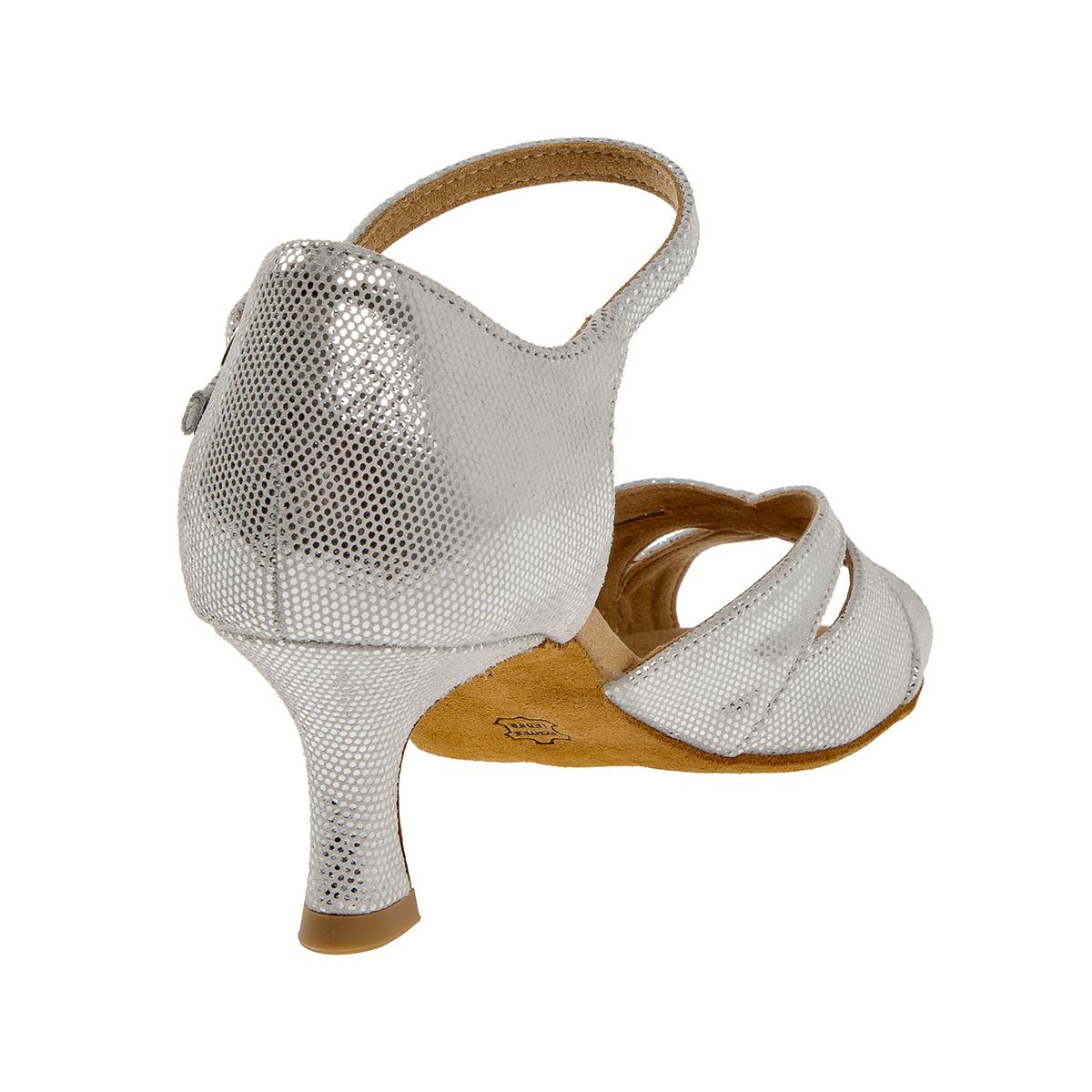 Diamant Damen Tanzschuhe 144 077 246 Silber Weiß