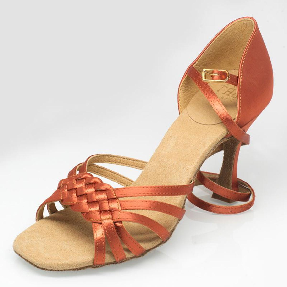 8006eab8b86b Ray Rose - Ladies Dance Shoes 869 Moonglow - Dark Tan