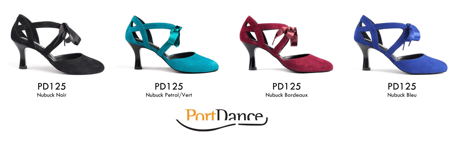 Portdance PD125 Chaussures de Danse