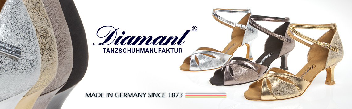 Diamant Scarpe da Ballo - Made in Germany
